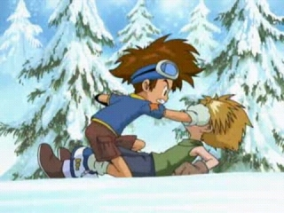 Taichi punches Yamato in the face!